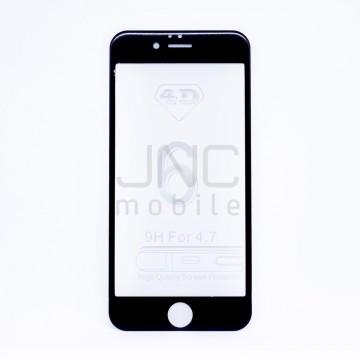 Film protection verre trempé 0,33mm Couverture totale iPhone 6 Noir