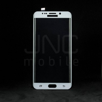 Film protection verre trempé 0,33mm - Samsung S6 Edge Plus Blanc