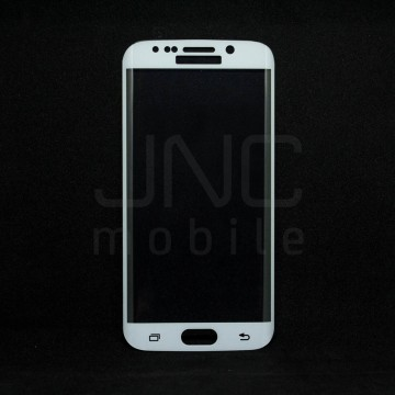 Film protection verre trempé 0,33mm - Samsung S6 Edge Blanc