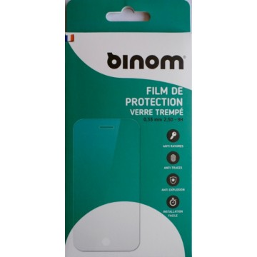 Film protection verre trempé 0,33mm - iPhone 4/4S