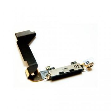 Nappe de charge iPhone 4 - Noire
