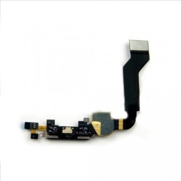 Nappe de charge iPhone 4S - Noire